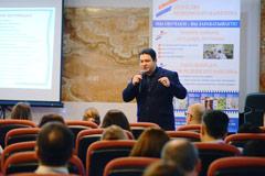 Юрий Чертков на тренинге