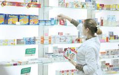 Аптечные продажи
