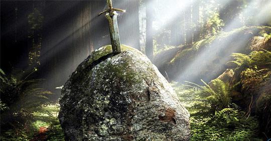 Как поднять меч короля Артура