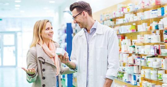 о различиях в аптечных покупках мужчин и женщин